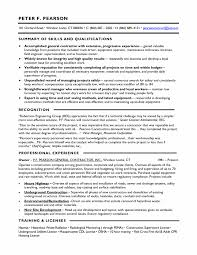 contractor resume service project manager job description template architectural
