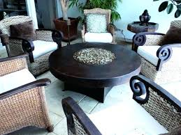 gas fire pit coffee table round hammered copper gas fire pit outdoor greatroom naples height