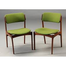 set of 5 model 49 dining chairs erik buch 1960s vine design furniture previous
