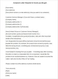 complaint letters templates hr templates premium sample  15 complaint letters templates hr templates premium sample complaint letter to human resources about manager