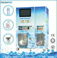Commercial Ice Vending Machine Enchanting 4848kg Square Cube Ice Vending Machine With Bagging System For