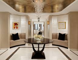 View in gallery Glamorous foyer by Cindy Ray Interiors