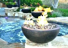 fire pit rock propane fire pit with glass rocks outdoor gas fire pit glass rocks gas