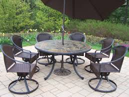 art stone outdoor top table with black iron chair using round base as well as metal outdoor patio furniture and out door furniture black iron outdoor furniture