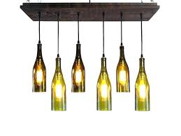 how to make a chandelier out of bottles diy wine bottle chandelier make a wine bottle