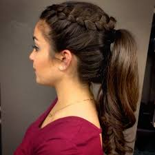 Pony Tail Hair Style ponytail prom hairstyles women medium haircut 3394 by wearticles.com