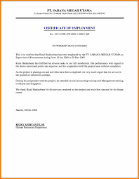 Certificate Employment Sample Letter Withdrawal Prior Retirement