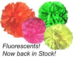 Pom Express Megaphone Bags · Fluorescents Welcome to for all your Cheer, Dance and Drill poms!