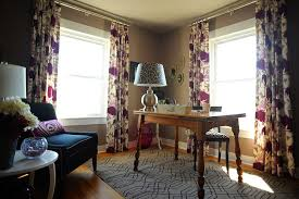 curtains for home office. Outdoor Curtain Rods Home Office Contemporary With Baseboards Rectangular Area Rugs Curtains For E