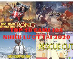 Top 10 game ios nhiều lượt tải nhất 2020 - TopTheGame