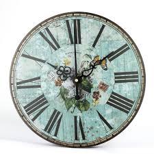 retro clock study clock european style