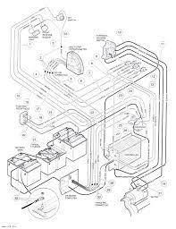 1995 club car 48v wiring diagram at ds teamninjaz me 1995 club car 48v wiring