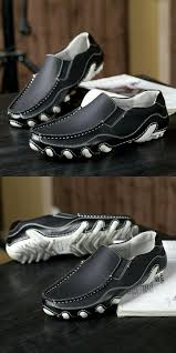 Buy Prelesty Autumn Winter Handmade <b>Men Flat Shoes Soft</b> Split