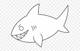 30 Shark Clipart Outline For Free Download On Saurabh Sharma
