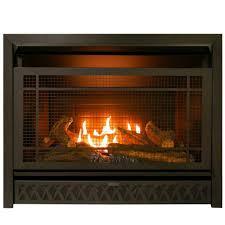 gas fireplace insert duel fuel technology 26 000 btu