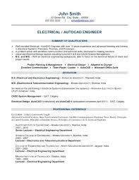 Electrical Engineer Resume Samples Electrical Engineering Resume