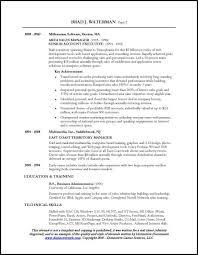 Sales Manager Profile Resume Cover Letter Efective Bank Sales