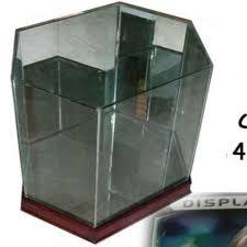 football helmet glass display case