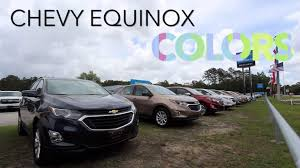 Colors Of 2018 Chevrolet Equinox Exterior Paint Colors For 2018 Review