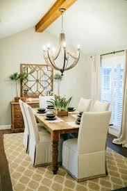 fixer upper dining room layout