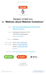 10 Of The Best Webinar Invitation Email Examples Youve Ever