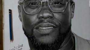 nigerian pencil artist sells portraits