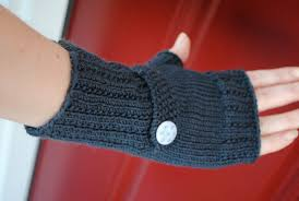 Free Fingerless Gloves Knitting Pattern Impressive Free Optimistic Mitt Pattern For Making's Sake