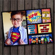Personalized Superhero Birthday Invitations 30 Superhero Birthday Invitation Templates Psd Ai Free