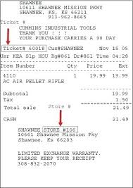 Template Grocery Store Payment Receipt Free Invoice Sample