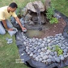 Small Picture Stacked Rock Falls Great Fountain for decks patios and in the