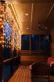 deck lighting ideas. Genius Deck Lighting Ideas: Create A Glowing Conversation Area With Curtain Lights! Ideas