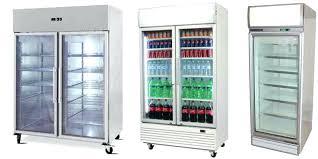 commercial glass door refrigerator upright display fridges freezers sydney