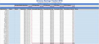 savings excel spreadsheet free grocery and coupon savings spreadsheet