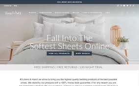 bedding sheets linen