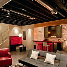 exposed lighting. Exposed Ceiling Lighting Pipes Basement Fixtures