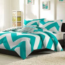 blue chevron comforter really encourage bedding sets at home and intended for popular house chevron bedding sets decor