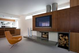 fireplace hearth ideas family room modern with wood veneer fireplace accessories built in