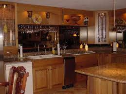 custom home bar glass rack