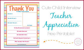 Printable Thank You Cards For Teachers Teacher Appreciation Week Thank You Letter Super Cute