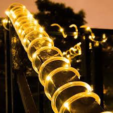 Led Rope Light Ideas Seasonal Winning Outdoor Garden Rope Lights Decorative Light
