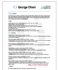 Gallery Of Template Bengenuity Easy To Read Resume Format