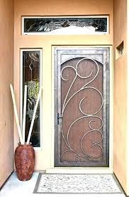 metal screen doors security door at sliding glass door locks front door handles front door metal screen doors security