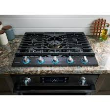 black stainless gas cooktop. Contemporary Black Store SO SKU 1003533129 13 Samsung 30 In Gas Cooktop In Fingerprint  Resistant Black Stainless  With S
