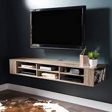 furniture under wall mounted tv. South Shore 9062677 City Life Wall Mounted Media Console Weathered Oak To Furniture Under Tv