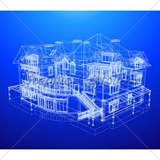 architectural engineering blueprints. Wonderful Architectural Architecture Blueprint Of A House Over Blue B Intended Architectural Engineering Blueprints