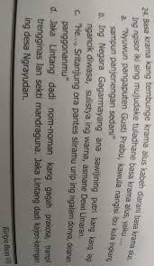 Soal dan kunci jawaban pat bahasa indonesia smp kelas 8 kurikulum 2013 tahun pelajaran 2018 2019 didno76 com. Kunci Jawaban Kirtya Basa Kelas 8 Bahasa Jawa Kirtya Basa Kelas 8 Dwiekastore Cuma Salah Paham Biasa Aja Kok Indo Inter