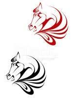 Koně Tetování Vektory Z Knihovny Clipartme