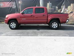 2008 Impulse Red Pearl Toyota Tacoma V6 SR5 PreRunner Double Cab ...
