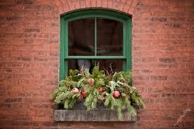 Christmas Window Box Decorations Altogether Christmas Decorating Outdoor Christmas Decorating 99