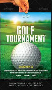 Golf Tournament Flyer Template Golf Tournament Flyer Template Stanley Tretick